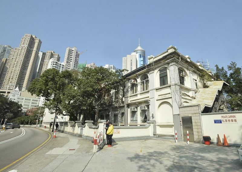 中環香港聖公會建築群擬建私家醫院。資料圖片