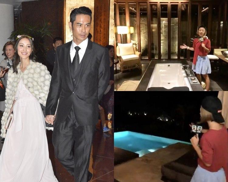 鄭嘉穎與陳凱琳明天在峇里的豪華度假村結婚。(資料圖片、截圖)