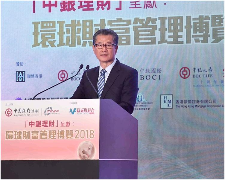 陳茂波展望銀行最優惠利率將會升上。