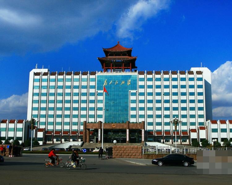 青州市政府大樓。網圖