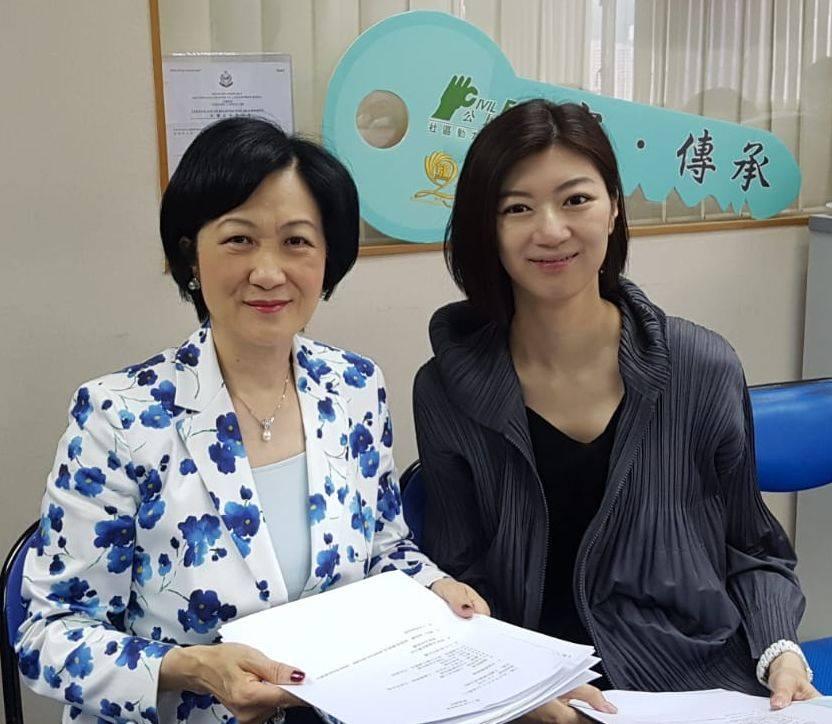 葉劉對容海恩新婚後加倍投入工作,感到十分欣慰。葉劉fb專頁