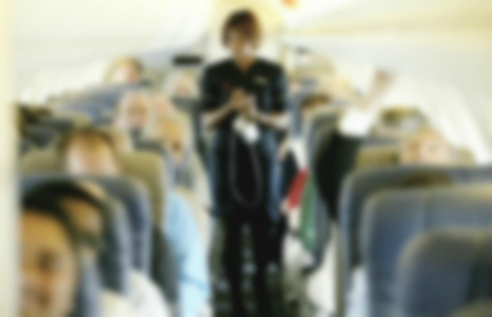 有空姐發文批評香港乘客行爲自私。網上圖片