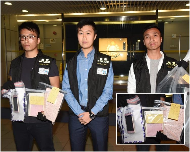 警方5月於元朗教育路拘捕一名31歲姓李本地女子涉嫌詐騙。資料圖片