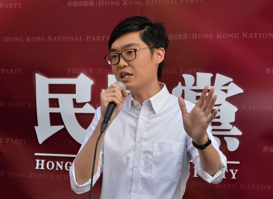 陳浩天稱保安局拒絕提交監視他的記錄。資料圖片