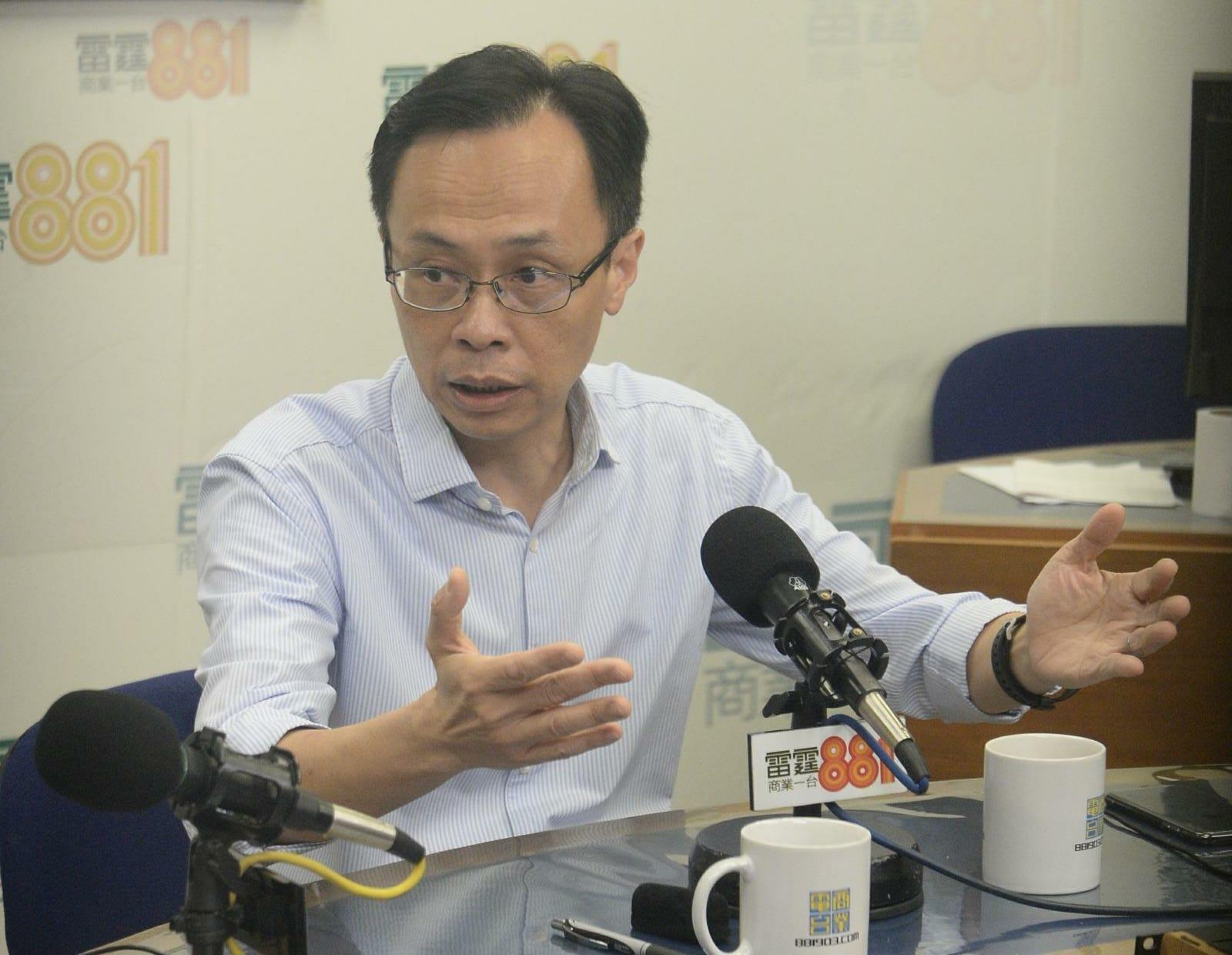 聶德權直指陳浩天在FCC的演講是鼓吹「港獨」。