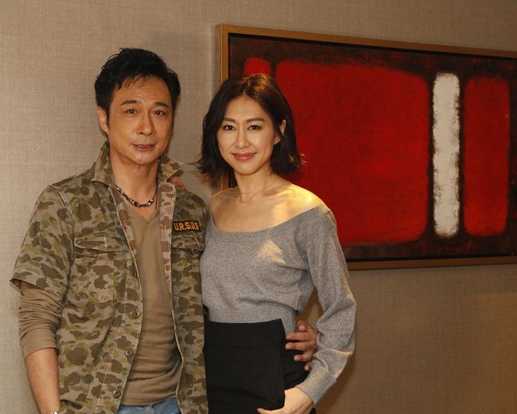 吳鎮宇和胡定欣在《逆流大淑》合作。(資料圖片)