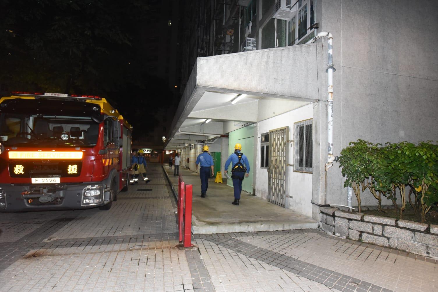 消防到場調查。