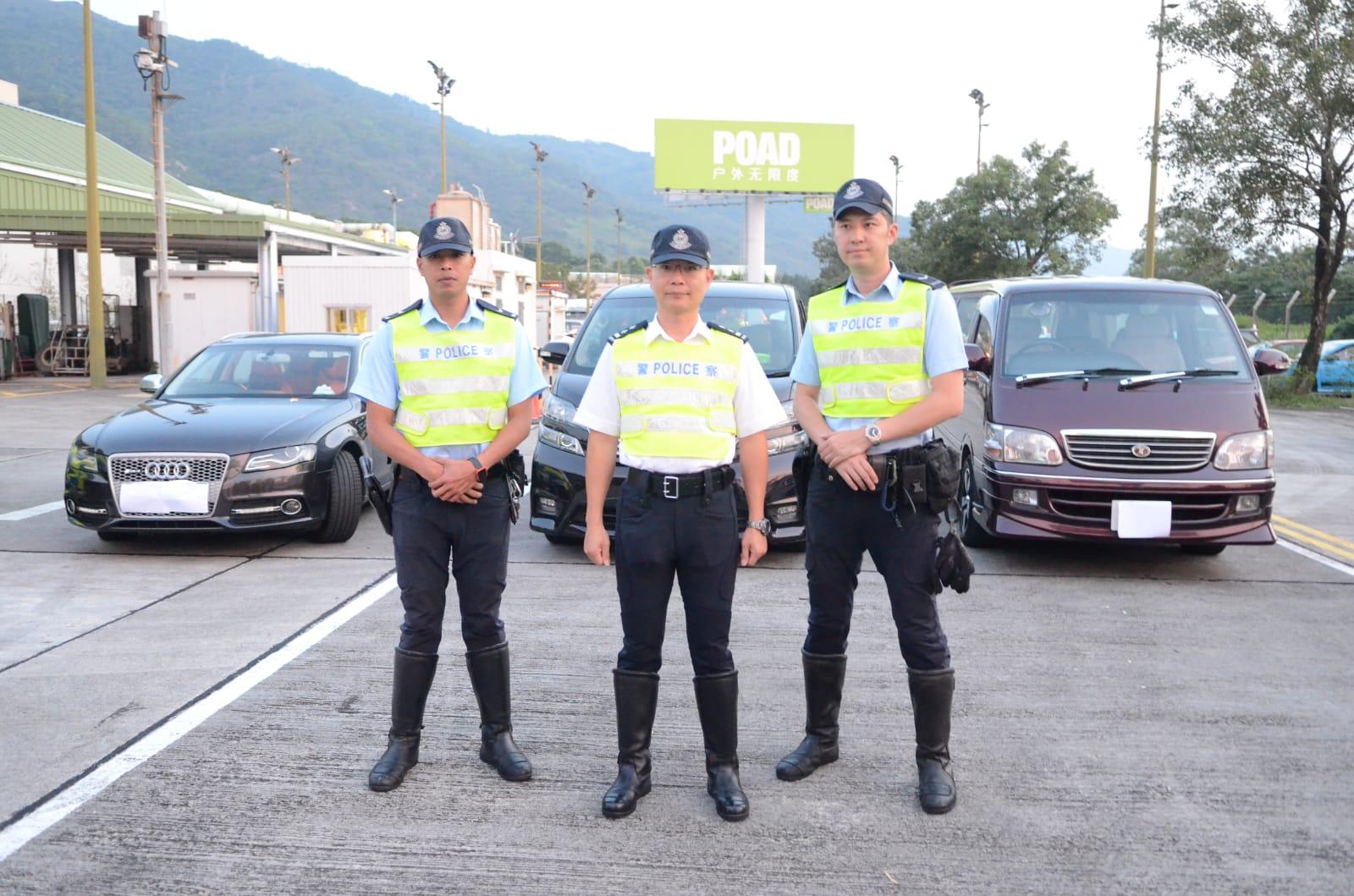 警方簡報案情。
