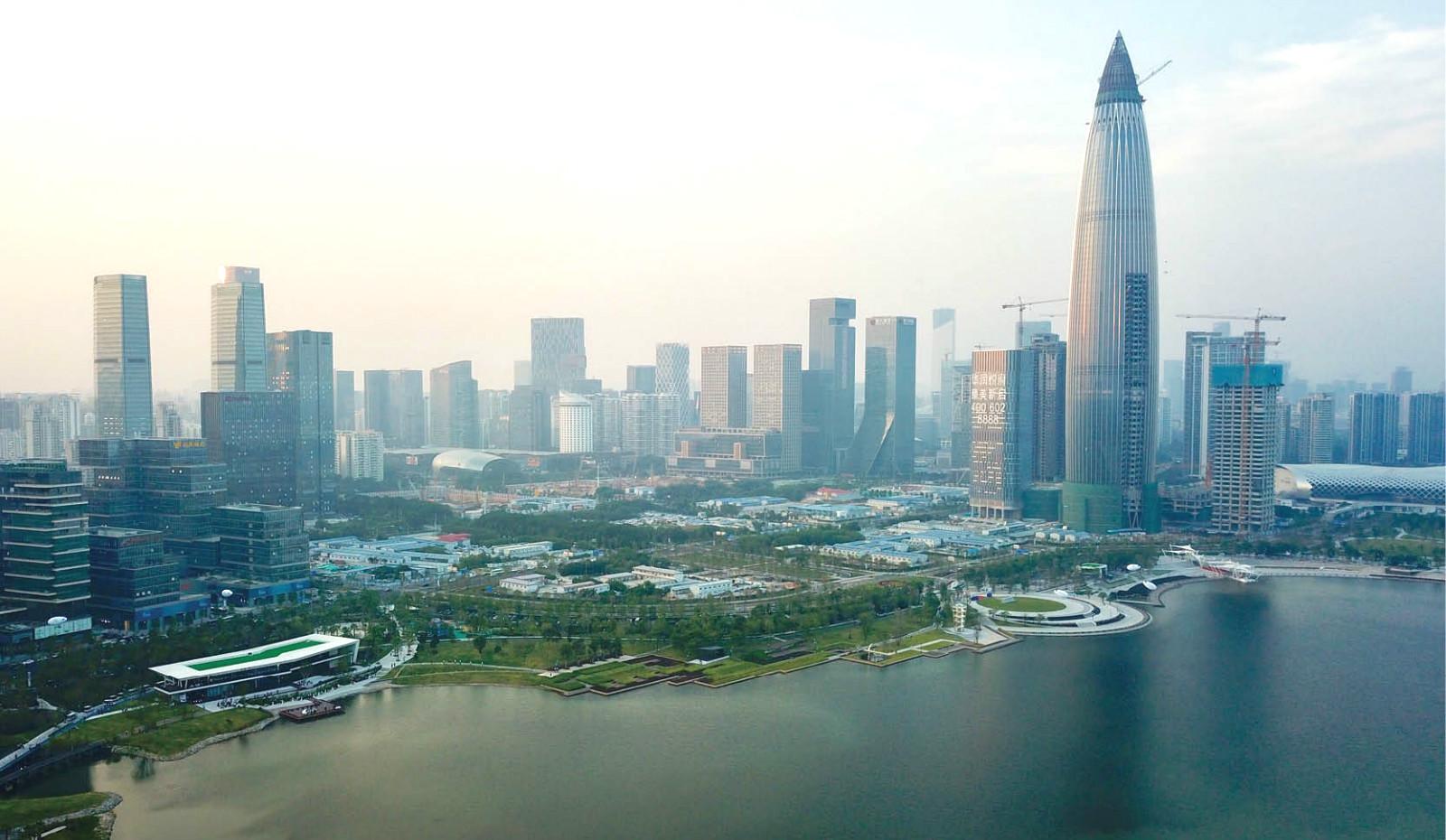 深圳。新華社圖片