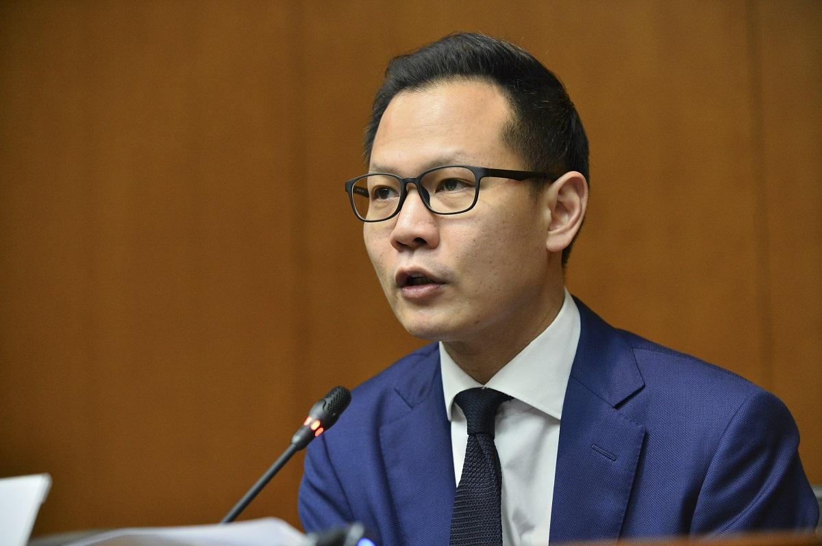 郭榮鏗不認為戴啟思被拒訪問北京大學涉及政治立場。資料圖片