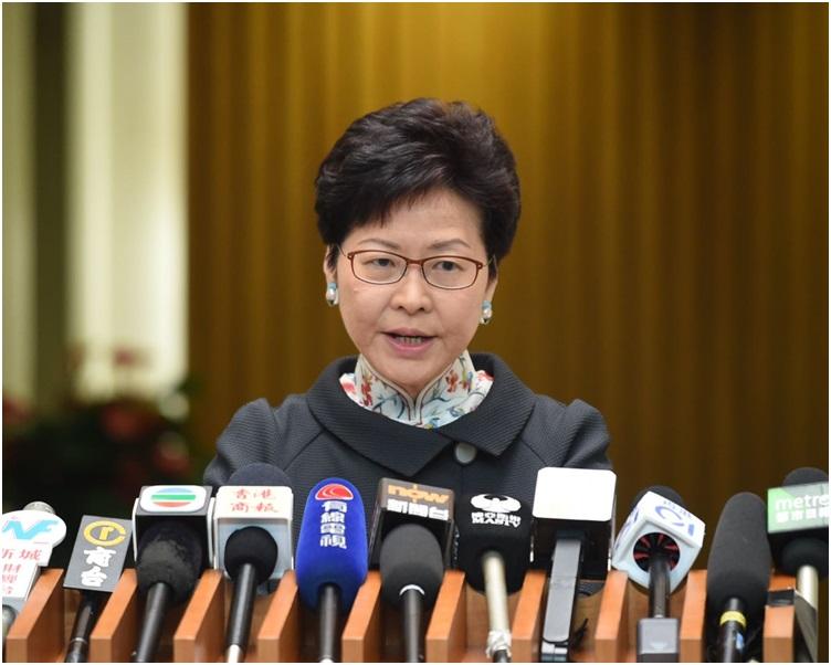 林鄭月娥指新學年將落實多項教育新措施。