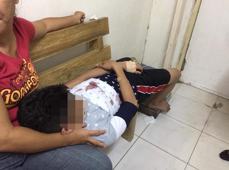 爆炸導致一名7歲女孩及另名52歲女性喪生。(網圖)