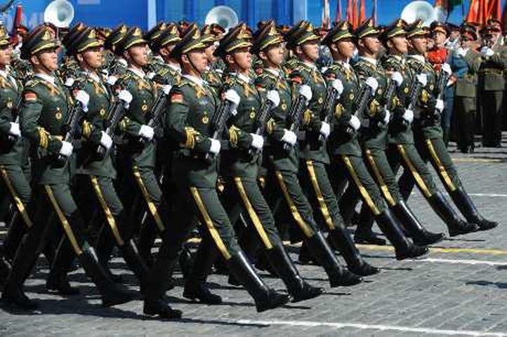 國防部表示,正在研究港澳居民是否可以參軍入伍。資料圖片