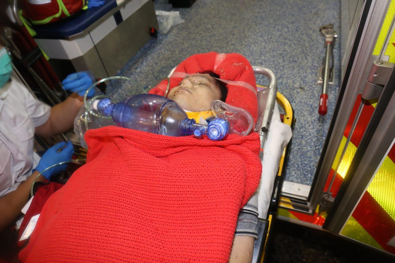 事主昏迷送院搶救。