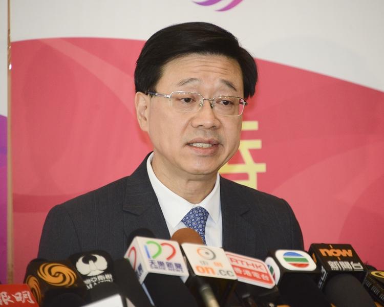 保安局局長李家超決定將民族黨書面申述期延長。資料圖片