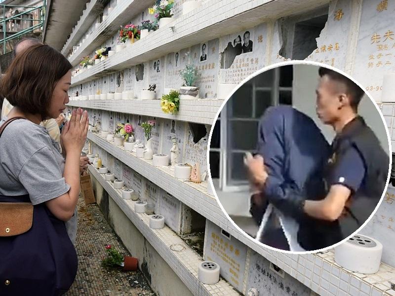 警方拘捕一名59歲男子(小圖)。