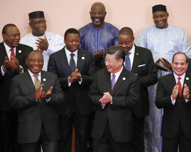 中非合作論壇北京峰會開幕。AP