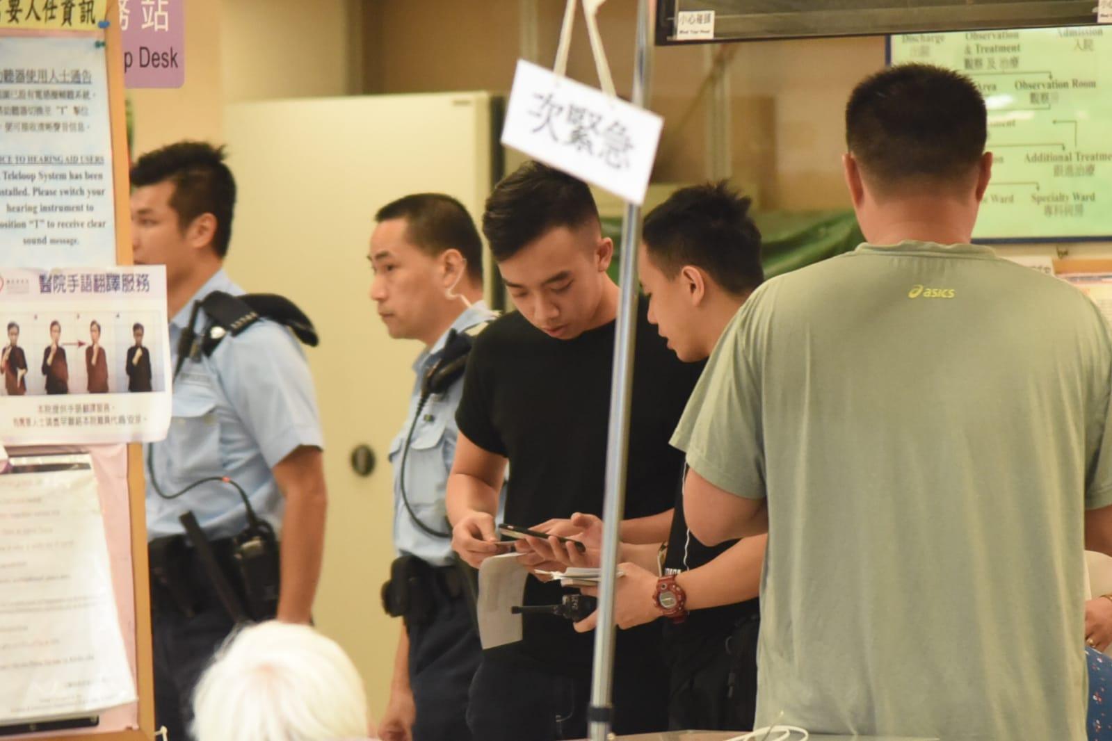 警方到場調查。蔡楚輝攝