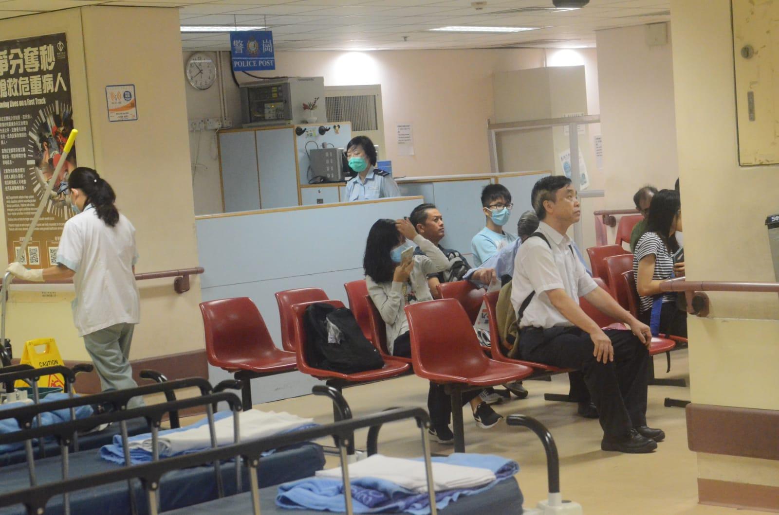 廣華醫院。蔡楚輝攝