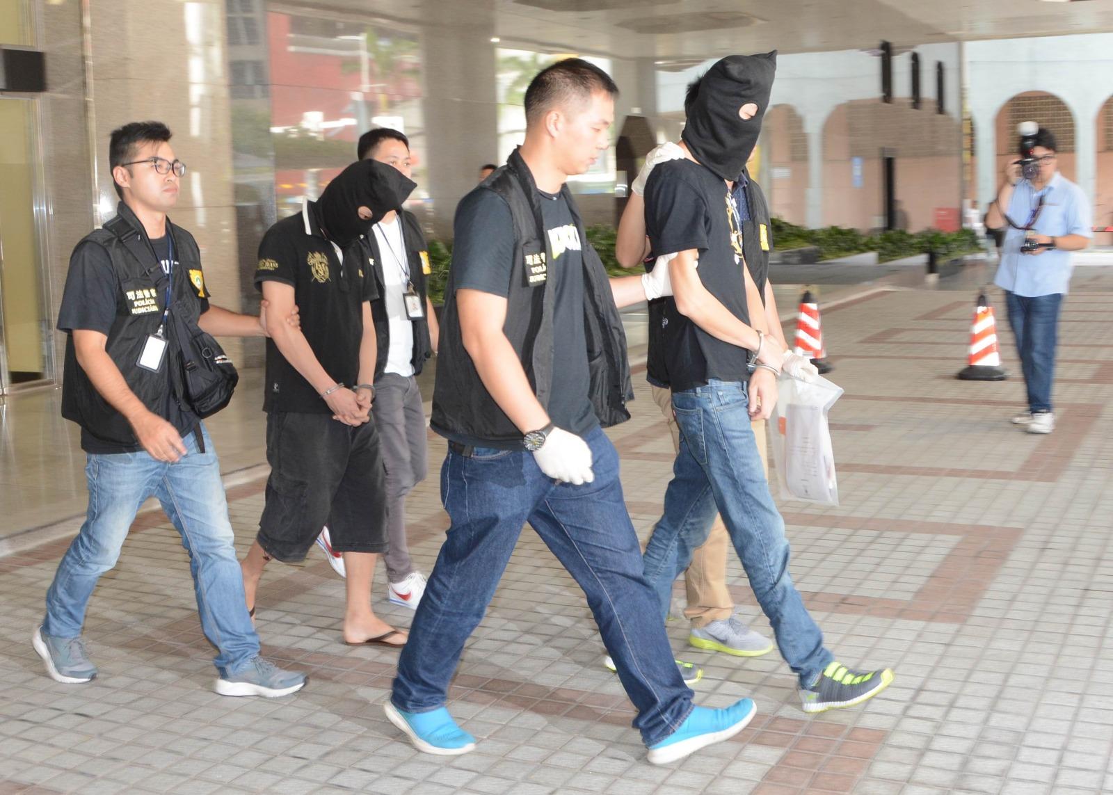 澳門司警拘捕香港男子