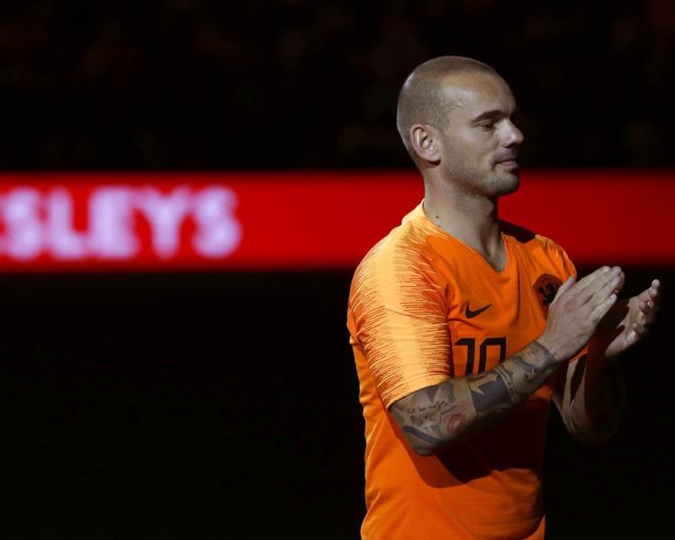 史奈達正式退出荷蘭國家隊。AP