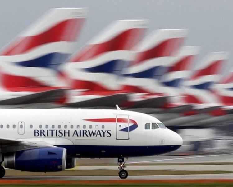 黑客攻陷英国航空公司购票系统,38万张信用卡资料外洩。资料图片