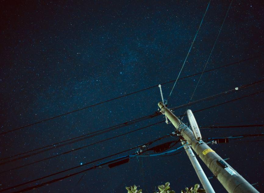 满天的繁星犹如置身银河。网民「damin_musaboro」摄。