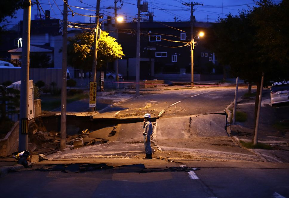 当地政府有可能针对北海道实施分区停电。