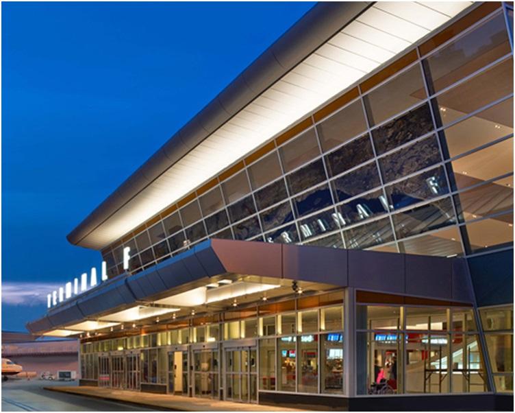期间费城国际机场运作未受影响。网图
