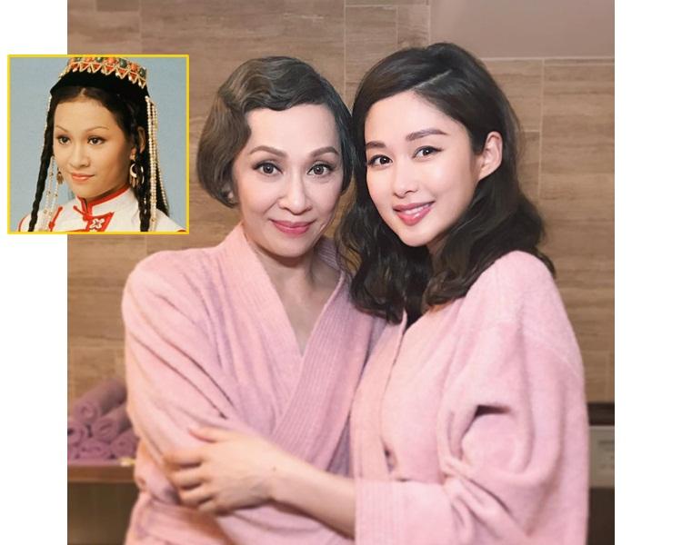 安安姐演香香公主是經典,所以岑麗香也尊稱安安姐為original的香香公主。(網圖/ig圖片)
