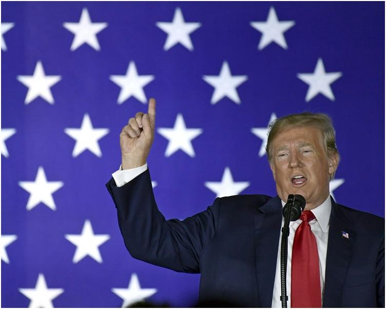 傳媒形容特朗普的言論再次挑戰司法部的獨立性。AP