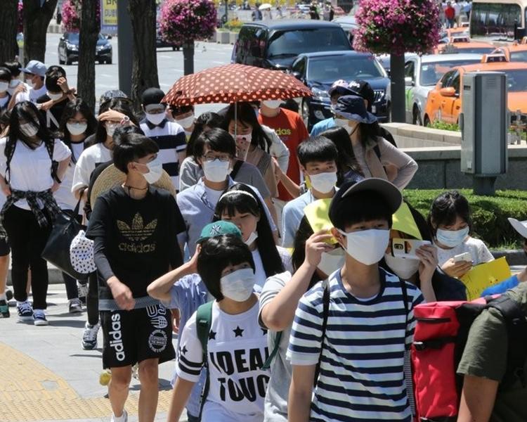 時隔3年,韓國再確診中東呼吸綜合症。網圖