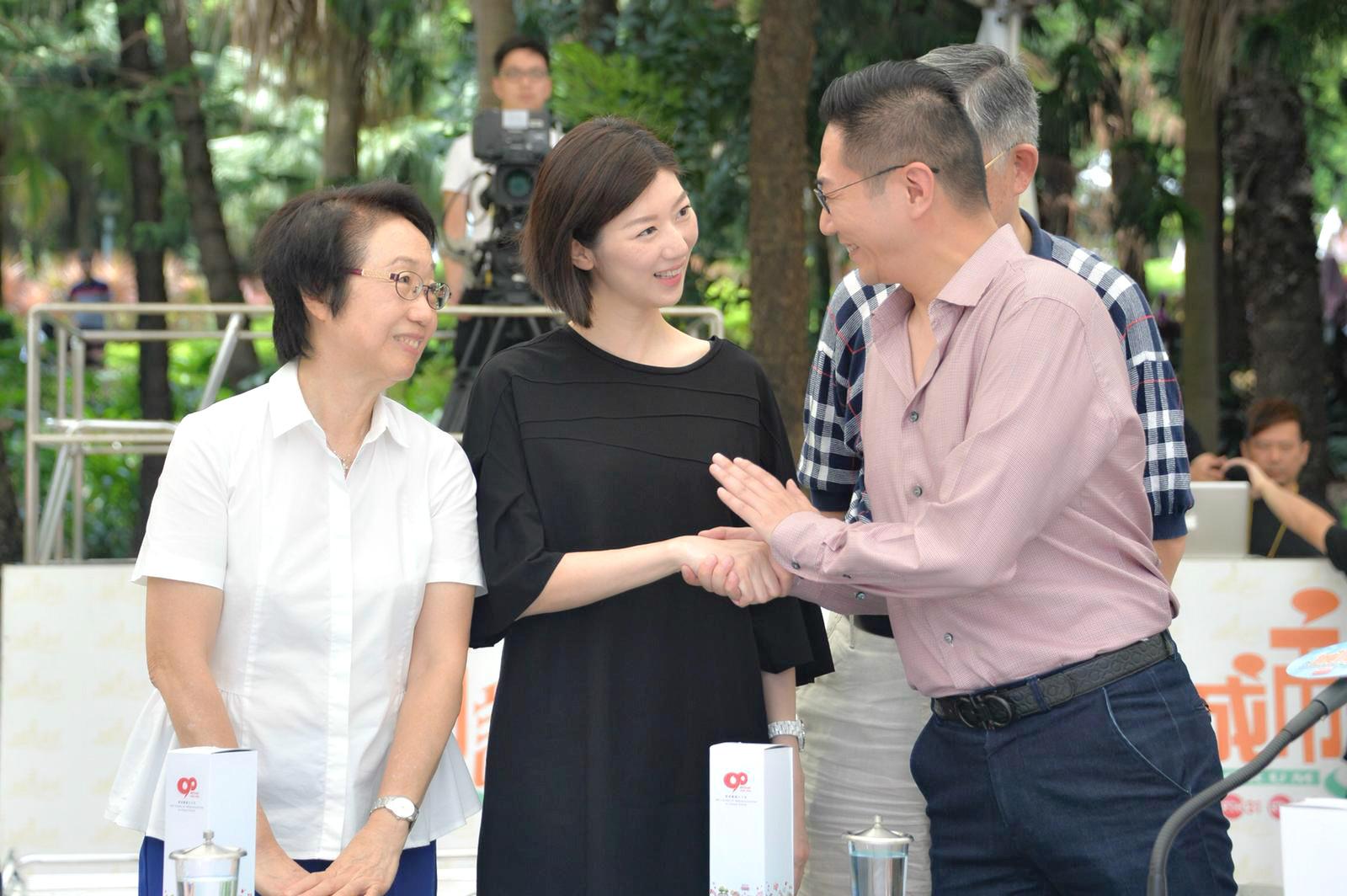 左起:陳婉嫻、容海恩、邵家輝