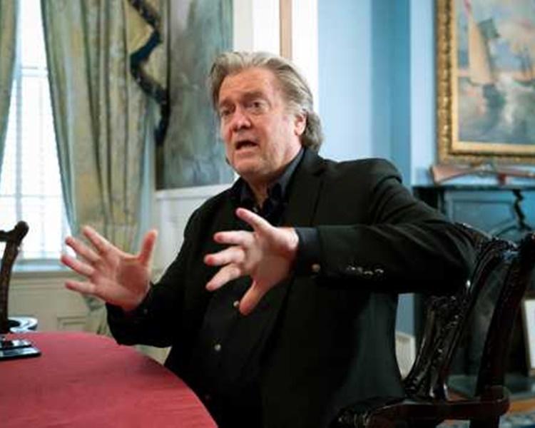 巴农称,特朗普面临重大危机。