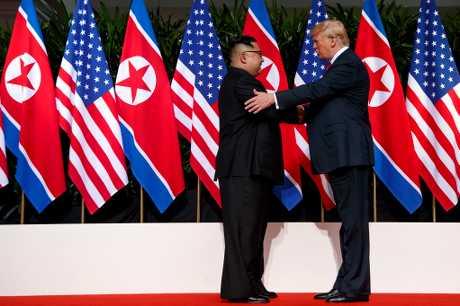 美国总统特朗普有望与北韩领导人金正恩再度会面。