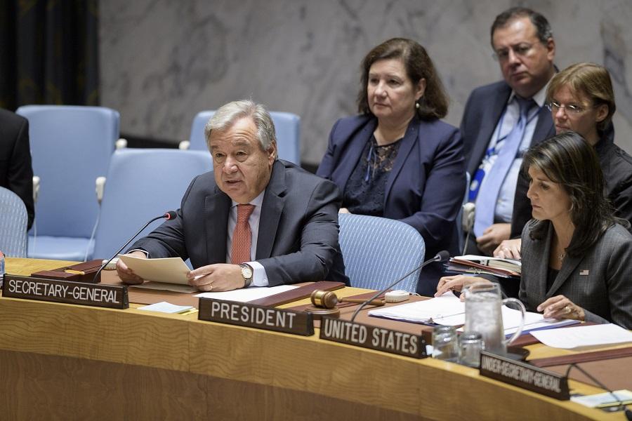 聯合國秘書長古特雷斯捉請各國採取行動,停止對維權人士進行報復。AP資料圖片