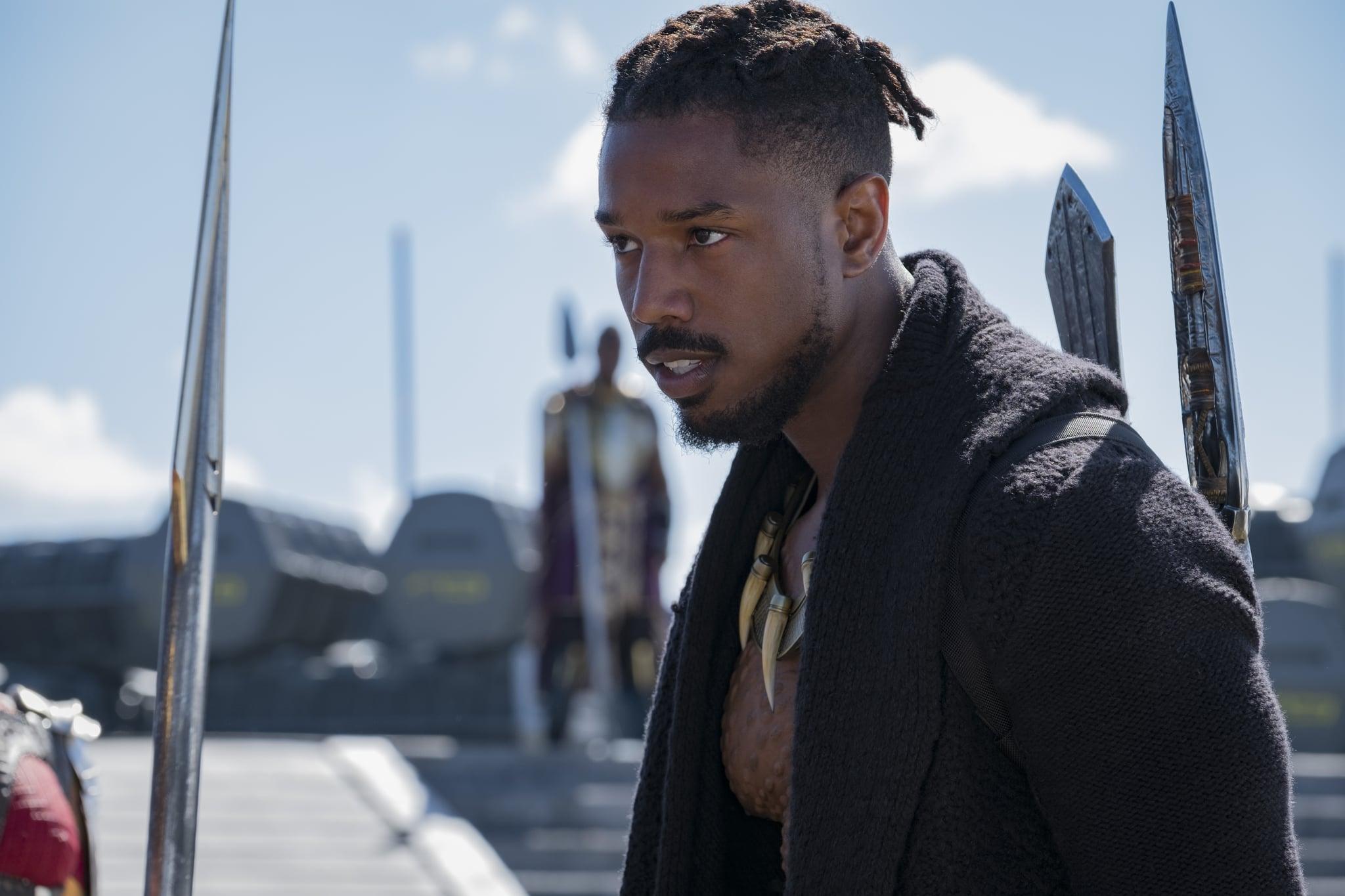 有傳DC有意找《黑豹》奸角Michael B. Jordan做首位黑人超人。(網圖)