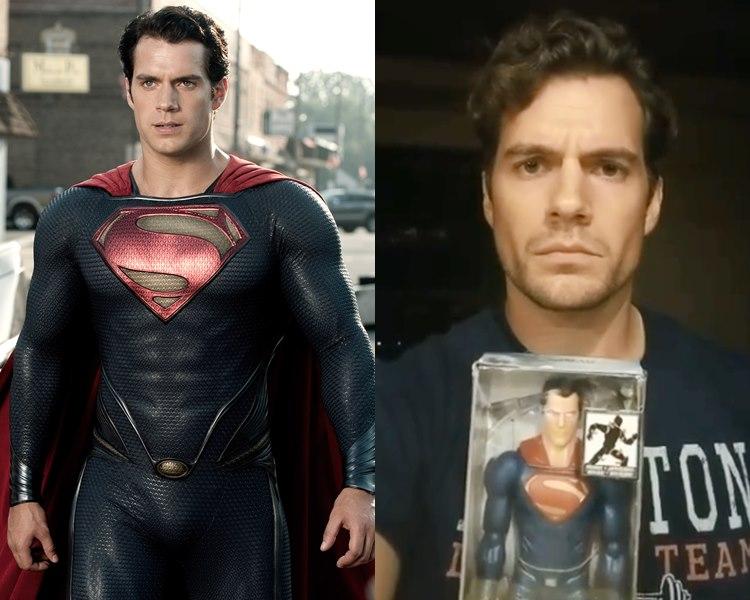 亨利卡維不再演「超人」,令DC大地震。(網圖)