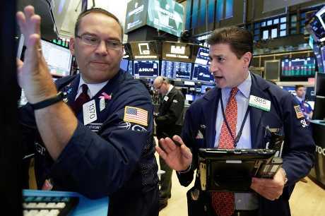 美股周四上升。AP