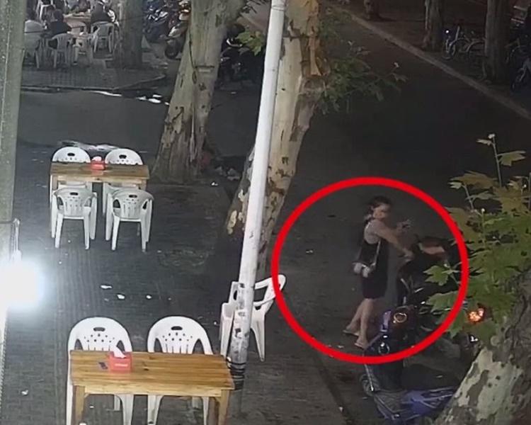 醉酒要求護送回家,安徽女食檸檬狂毆外賣哥。網上圖片
