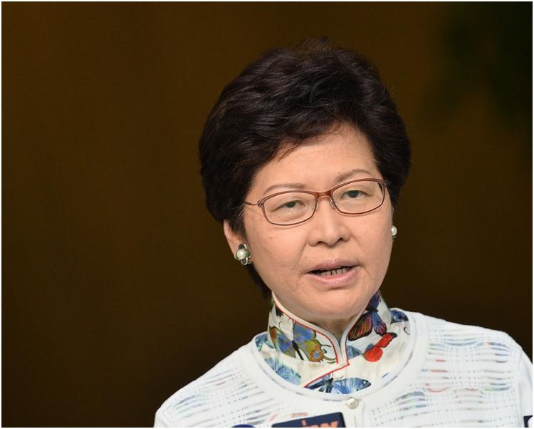 林鄭月娥指因應風暴,當局已召開兩次跨部門會議。