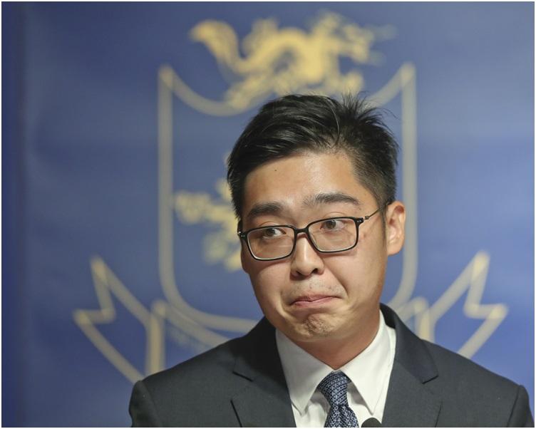 陳浩天承認至早上仍未提交任何申述。資料圖片