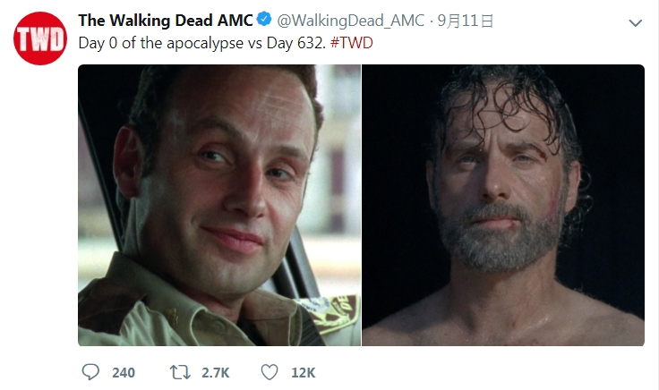 The Walking Dead Twitter 截圖