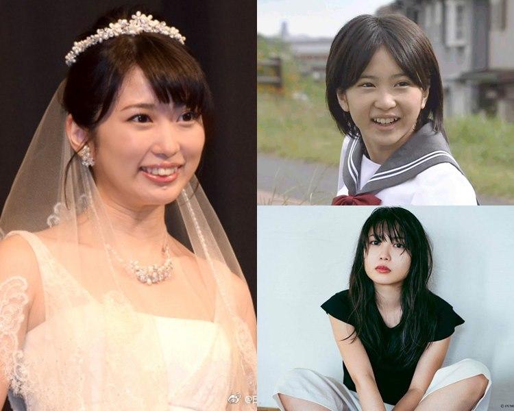 25歲的志田未來大個女,宣佈本月嫁人。(網圖)