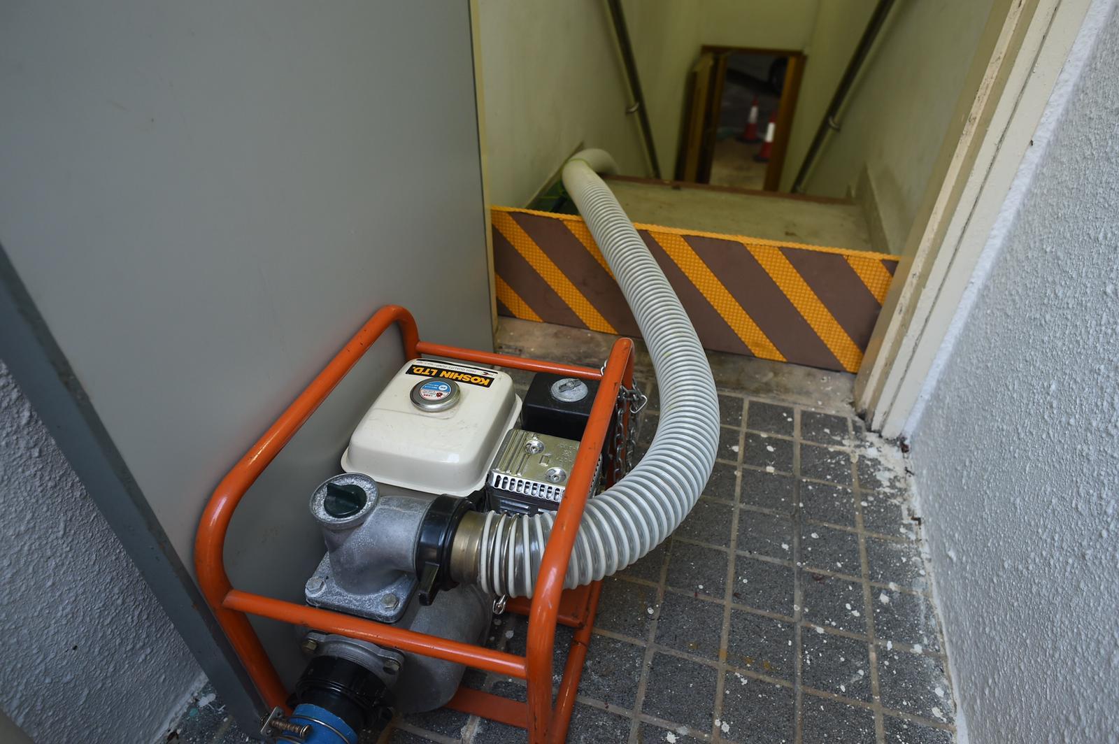 管理處已抽水設施。