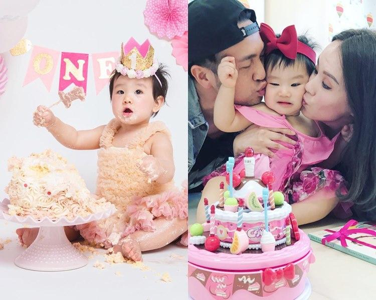 Tim與老婆楊洛婷的1歲囡囡非常可愛。(ig圖片)