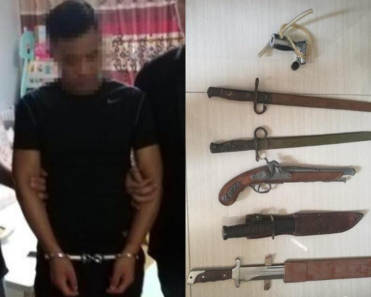 山東警方今年4月搗破一個黑惡犯罪集團。網圖