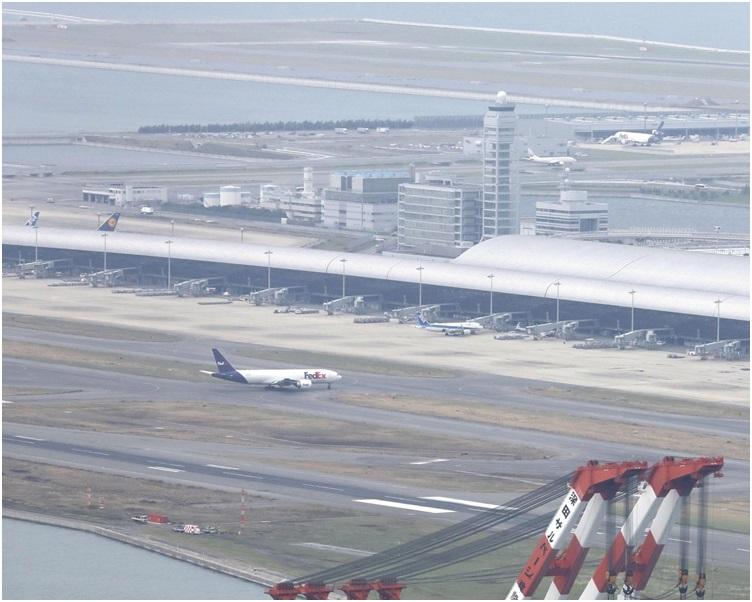 关西机场预计在21日全面重启第一客运大楼。网图