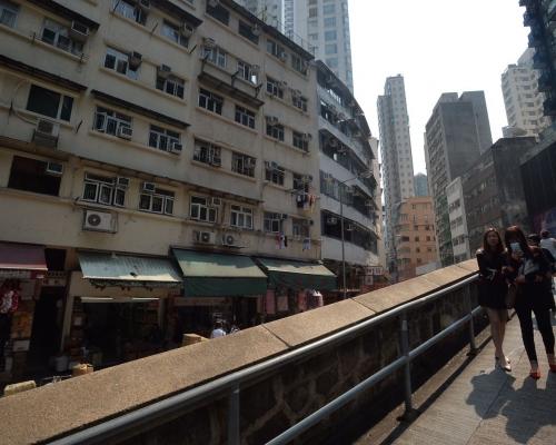 市建局重建後可望提供約200個住宅單位。資料圖片