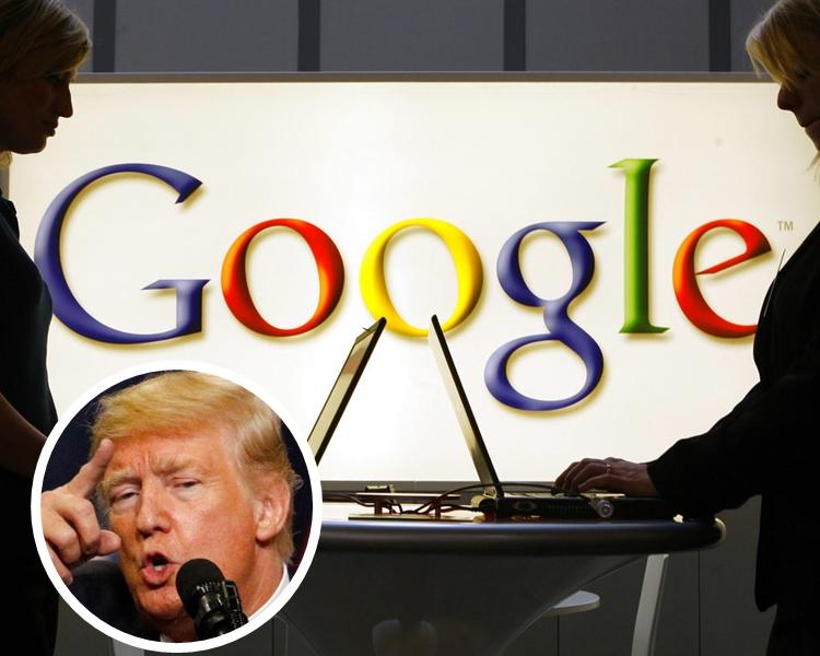 傳Google曾擬操縱搜尋結果,以反制特朗普去年針對7個穆斯林國家採取的旅遊禁令。AP